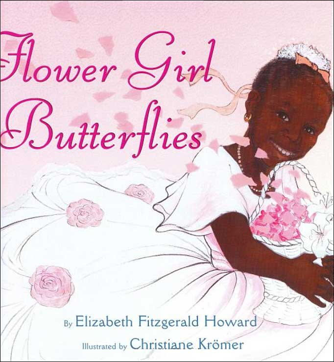 Flower Girl Butterflies by Elizabeth Fitzgerald Howard