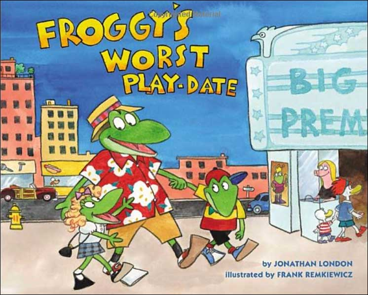 Froggy's Worst Play Date by Jonathan London