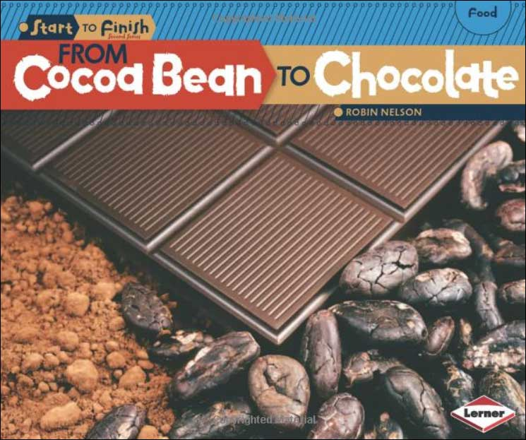 From Cocoa Bean to Chocolate by Robin Nelson