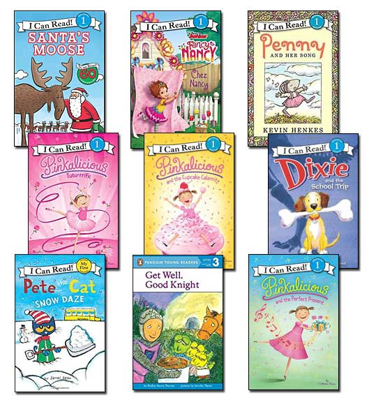 9 leveled books for Guided Reading I and DRA 16 (#I3)