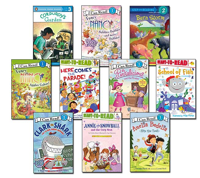 10 leveled books for Guided Reading J and DRA 16 (#J10)
