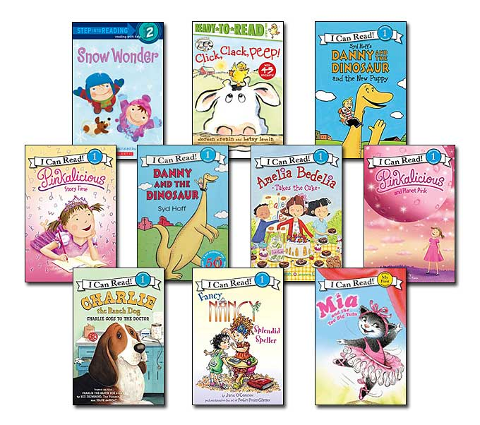 10 leveled books for Guided Reading J and DRA 16 (#J8)
