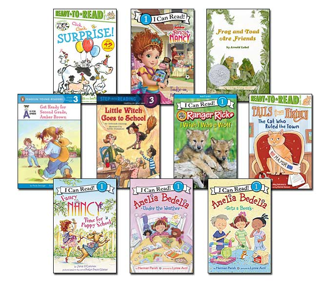 10 leveled books for Guided Reading K and DRA 18