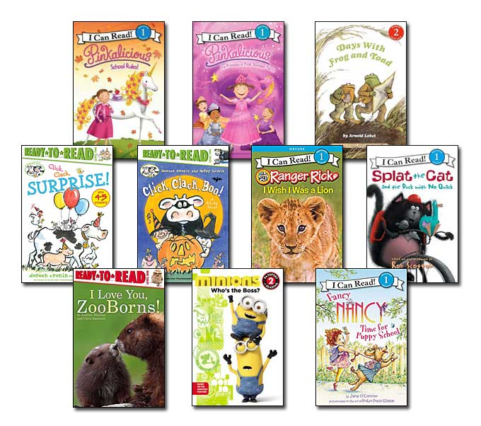 10 leveled books for Guided Reading K and DRA 18 (#K1)