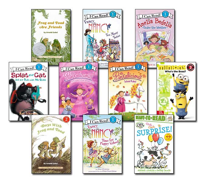 10 leveled books for Guided Reading K and DRA 18 (#K3)