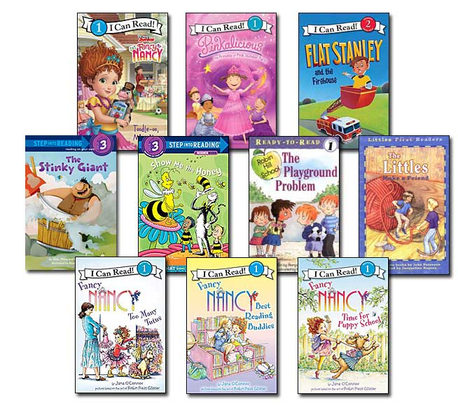 10 Leveled Books at Guided Reading K / DRA 18 (Set #K52)