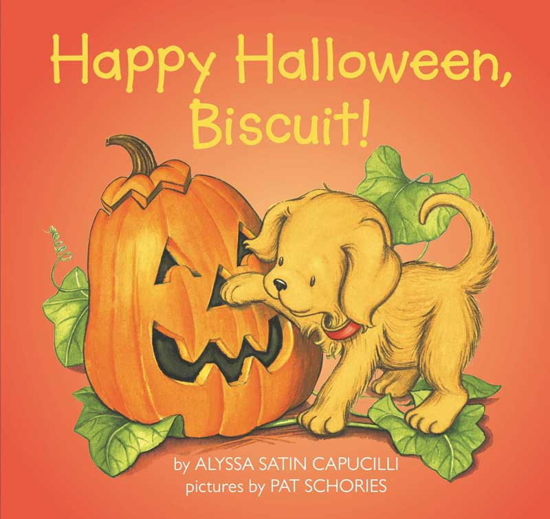 Happy Halloween, Biscuit! by Alyssa Satin Capucilli;  illustrated by Pat Schories