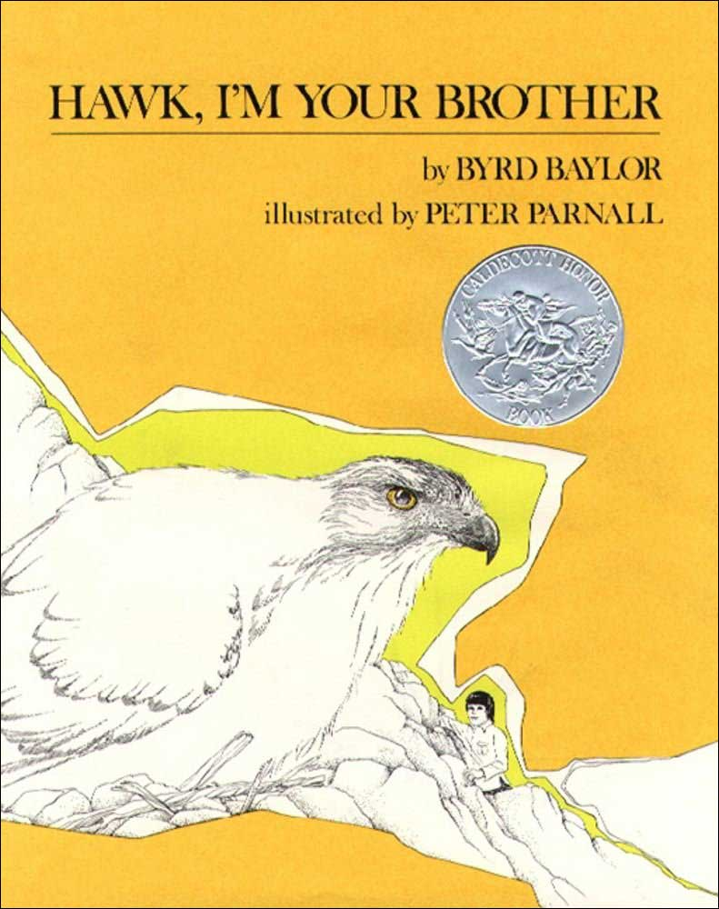 Hawk, I'm Your Brother by Byrd Baylor; illustrated by Peter Parnall