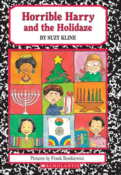 Horrible Harry and the Holidaze by Suzy Kline; illustrated by Frank Remkiewicz
