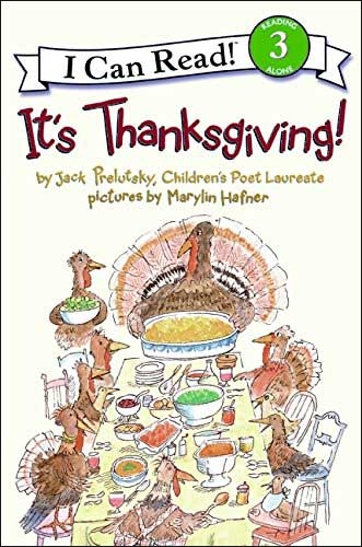 It's Thanksgiving! by Jack Prelutsky;  illustrated by Marylin Hafner