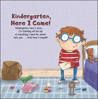Kindergarten, Here I Come by D. J. Steinberg