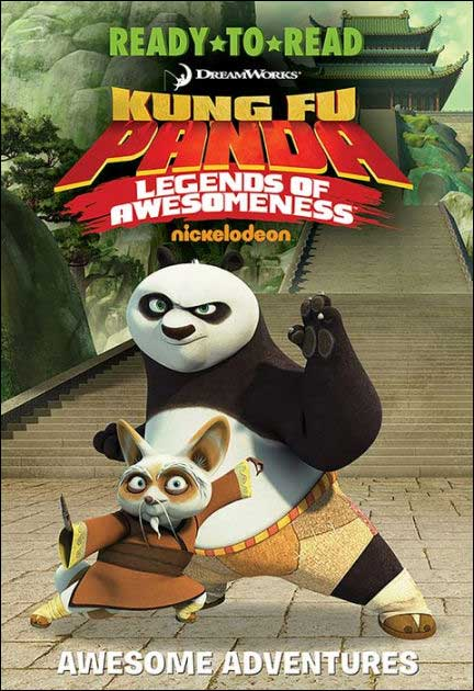 Kung Fu Panda Awesome Adventures: 4 Books in 1