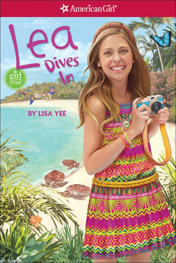 American Girl: Lea Dives In by Lisa Yee