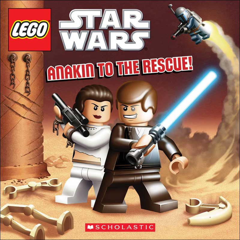 Lego Star Wars: Anakin to the Rescue by Ace Landers; illustrated by David White