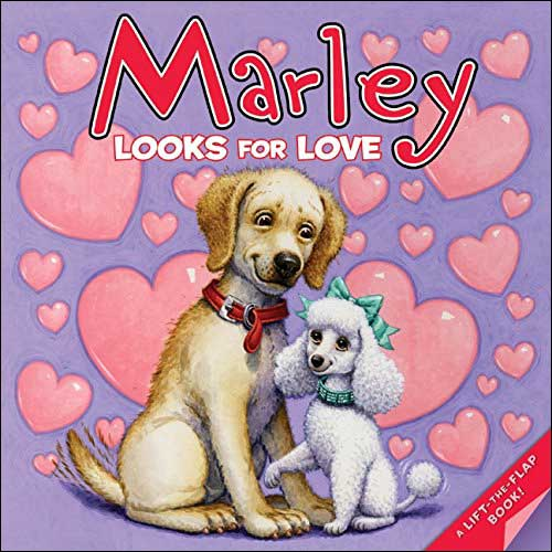 Marley Looks for Love by John Grogan; illustrated by Richard Cowdrey