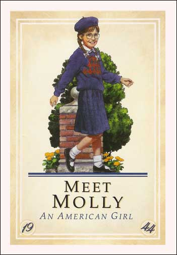 American Girl: Meet Molly by Valerie Tripp; illustrations by Nick Backes
