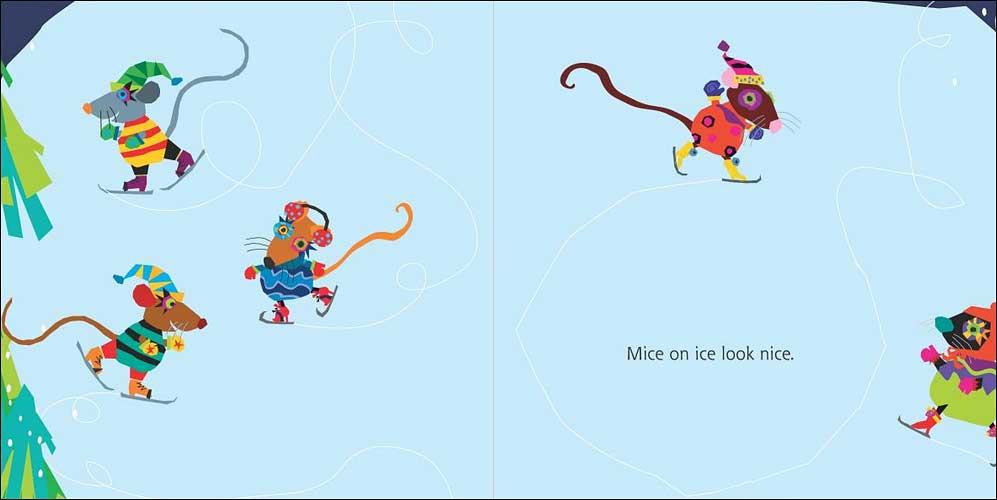 Mice on Ice by Rebecca and Ed Emberley