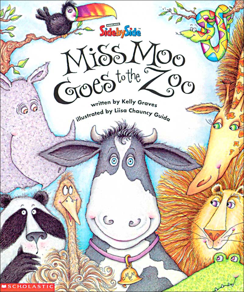 Miss Moo Goes to the Zoo