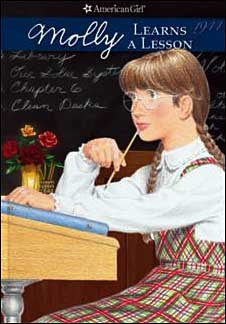 American Girl: Molly Learns a Lesson  by Valerie Tripp; illustrated by C. F. Payne