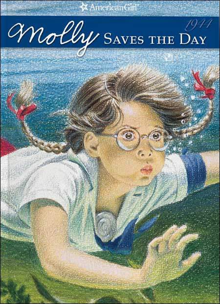 American Girl: Molly Saves the Day by Valerie Tripp; illustrated by Nick Backes