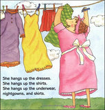 Mrs. McNosh Hangs Up Her Wash by Sarah Weeks,