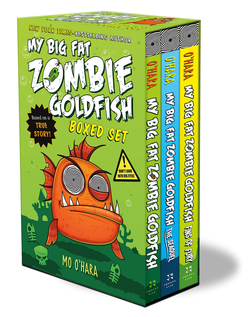 My Big Fat Zombie Goldfish Book Set by Mo O'Hara