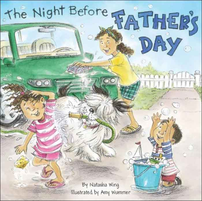 The Night Before Father's Day  by Natasha Wing