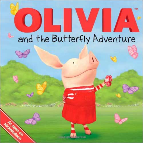 Olivia and the Butterfly Adventure by Natalie Shaw; illustrated by Patrick Spaziante