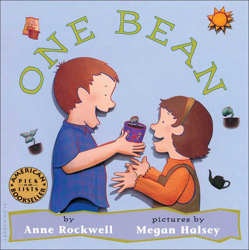 One Bean  by Anne Rockwell