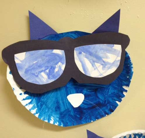 Pete the Cat and His Magic Sunglasses activity