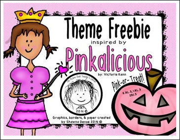 Pinkalicious by Victoria Kann activity