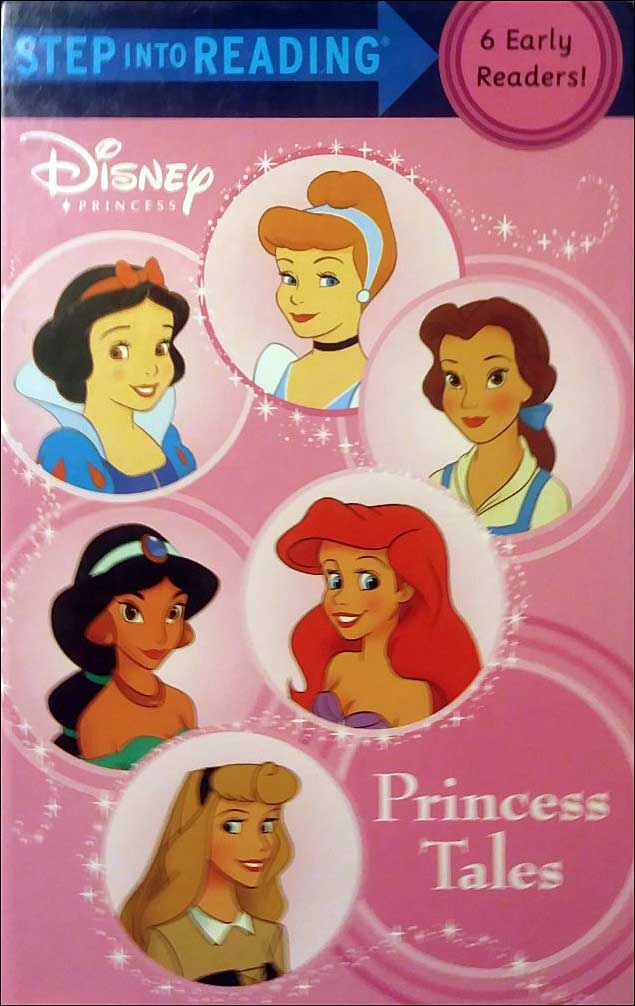 Disney Princess Tales Collection: 6 Books in 1 Step Into Reading Collection