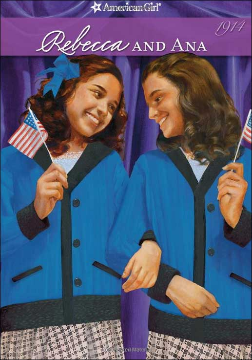 American Girls: Rebecca and Ana by Jacqueline Greene; illustrated by Robert Hunt