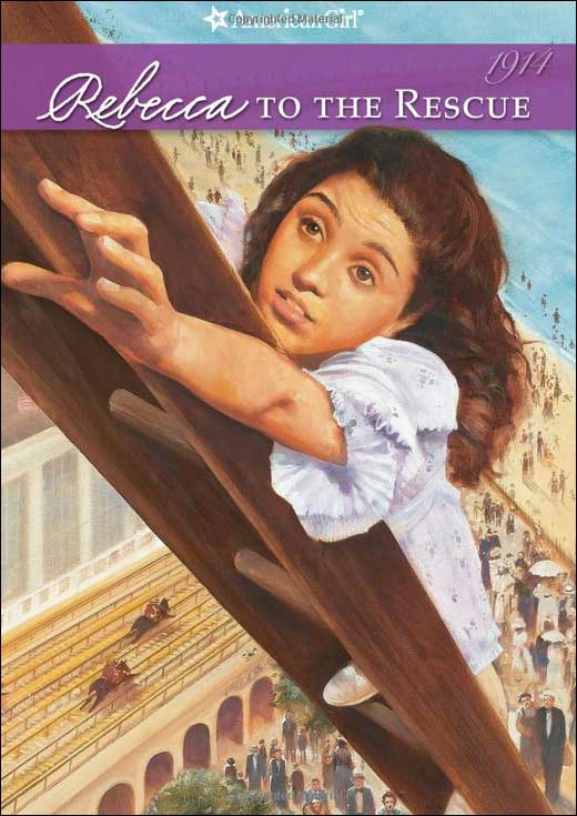 American Girls: Rebecca to the Rescue by Jacqueline Greene; illustrated by Robert Hunt