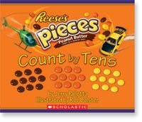Reese's Pieces Count by Fives by Jerry Pallotta;  illustrated by Rob Bolster