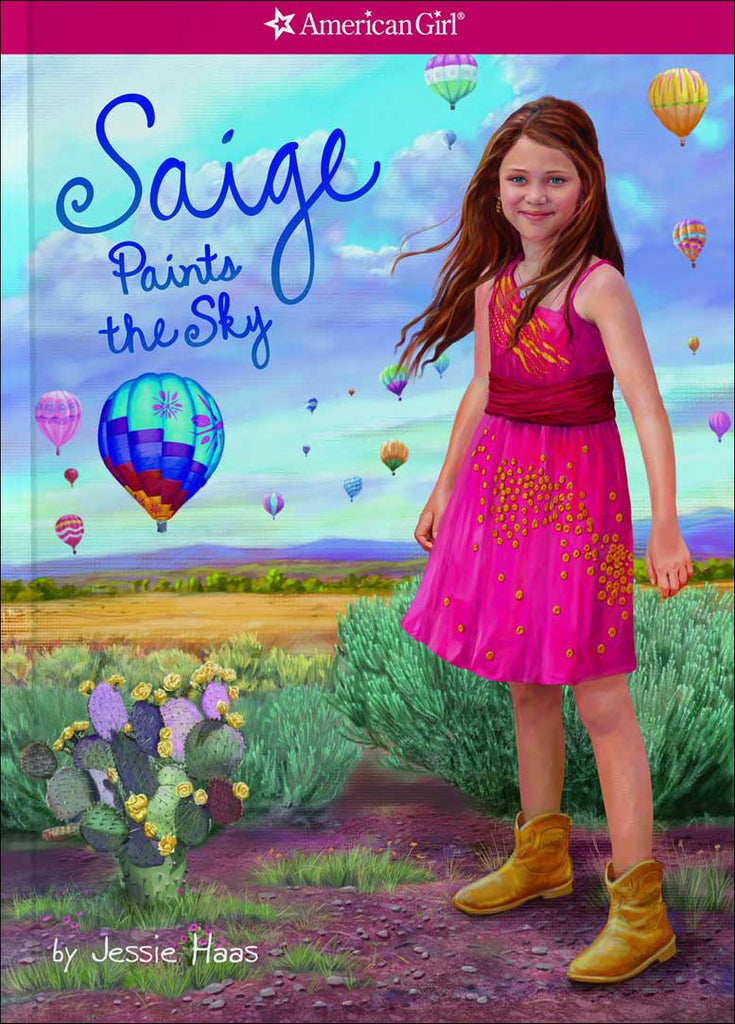 American Girl: Saige Paints the Sky by Jessie Haas