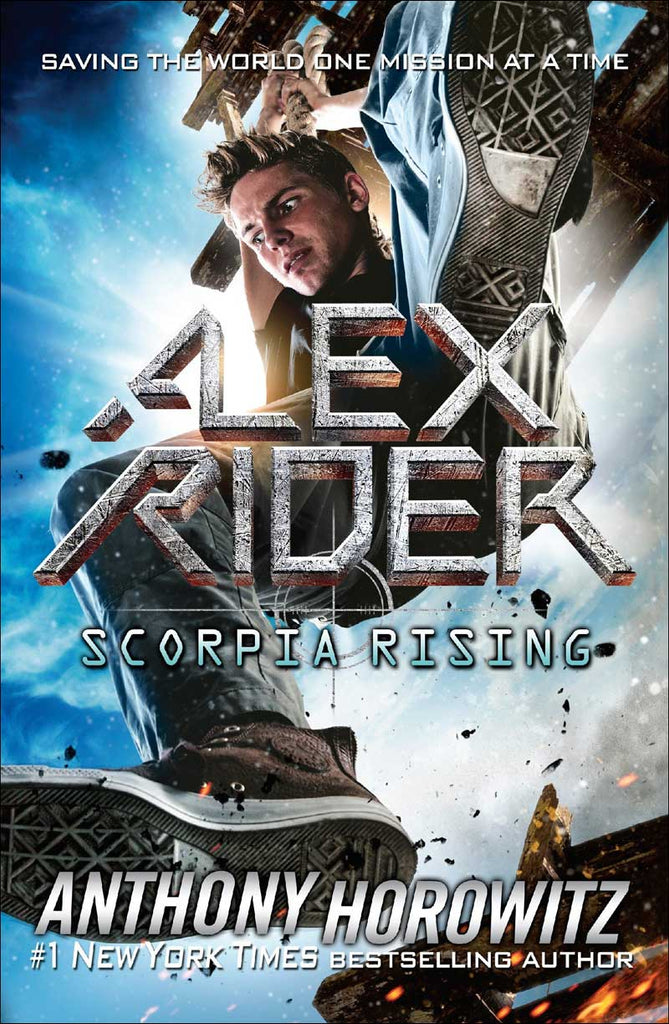 Scorpia Rising (Alex Rider series, Book 9 of 12) by Anthony Horowitz