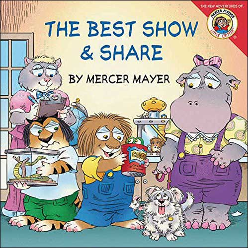 The Best Show & Share  by Mercer Mayer