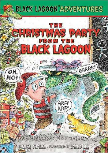 The Christmas Party from the Black Lagoon by Mike Thaler