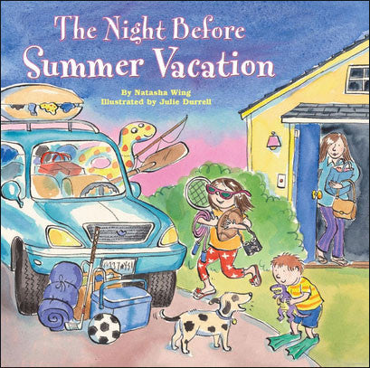 The Night Before Summer Vacation by Natasha Wing