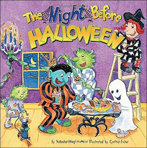The Night Before Halloween by Natasha Wing