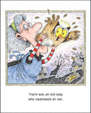 There Was an Old Lady Who Swallowed a Bat by Lucille Colandro
