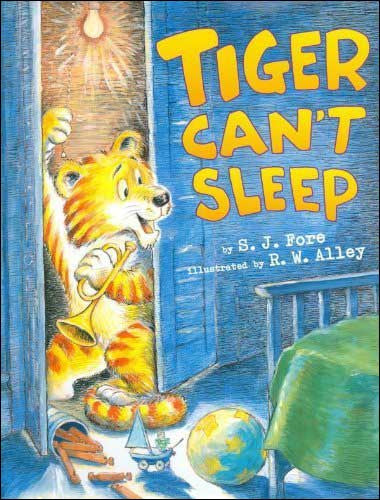 Tiger Can't Sleep by S. J. Fore