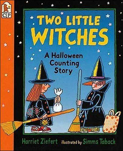 Two Little Witches: A Halloween Counting Story by Harriet Ziefert
