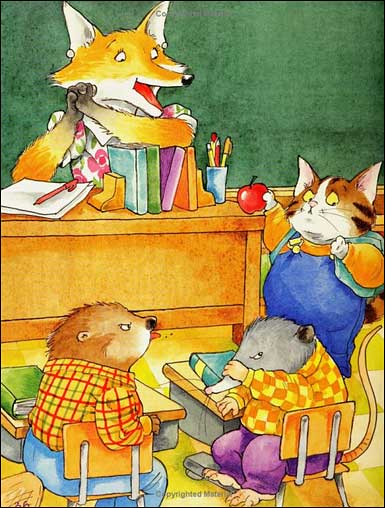 What a Day It Was at School! by Jack Prelutsky, illustrated by Doug Cushman