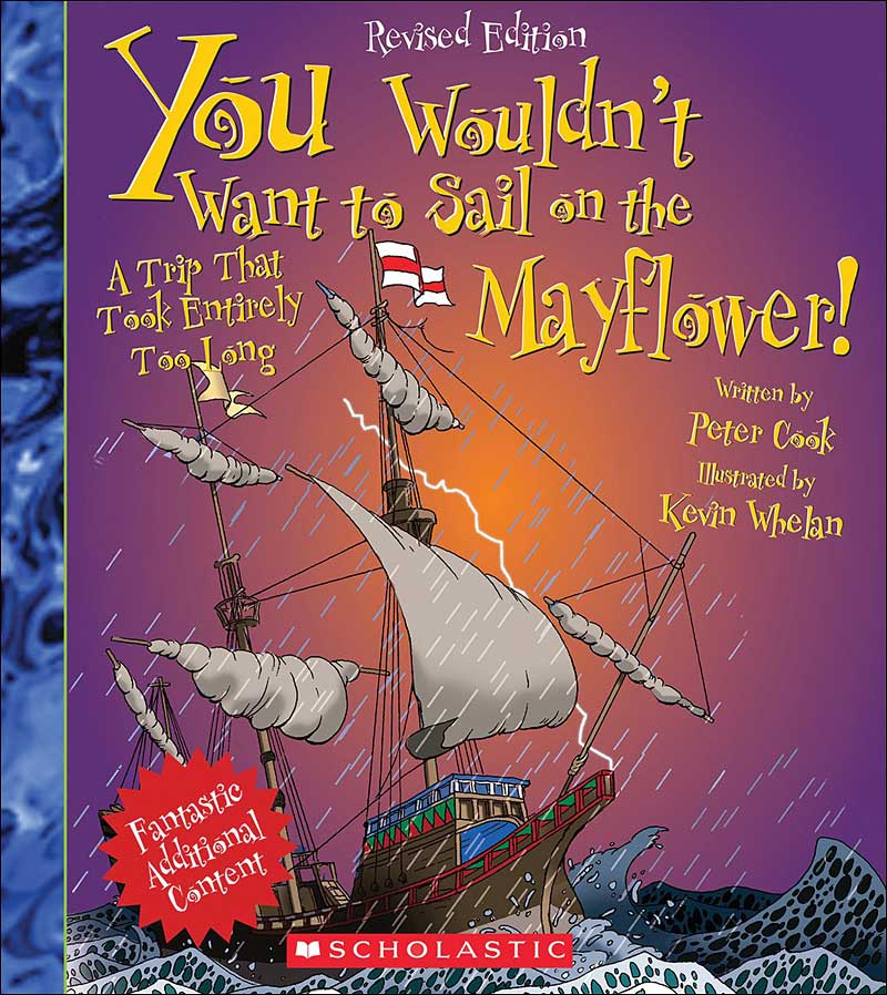 You Wouldn't Want to Sail on the Mayflower by Peter Cook