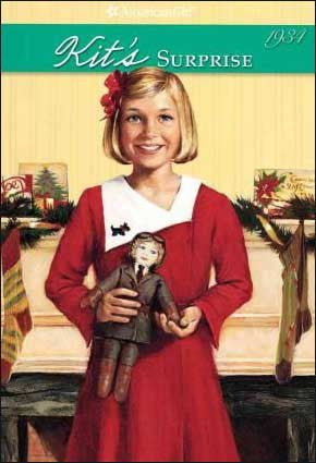 American Girl: Kit's Surprise by Valerie Tripp; illustrated by Walter Rane