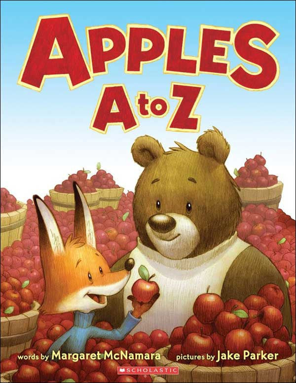 Apples A to Z by Margaret McNamara;