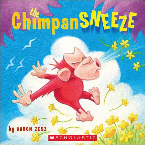The Chimpansneeze by Aaron Zenz