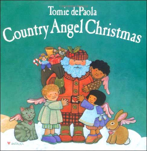 Country Angel Christmas  by Tomie dePaola